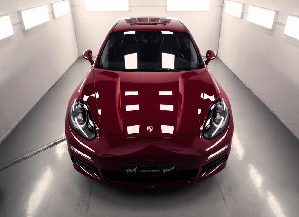 Car detailing Porsche Panamera 4S