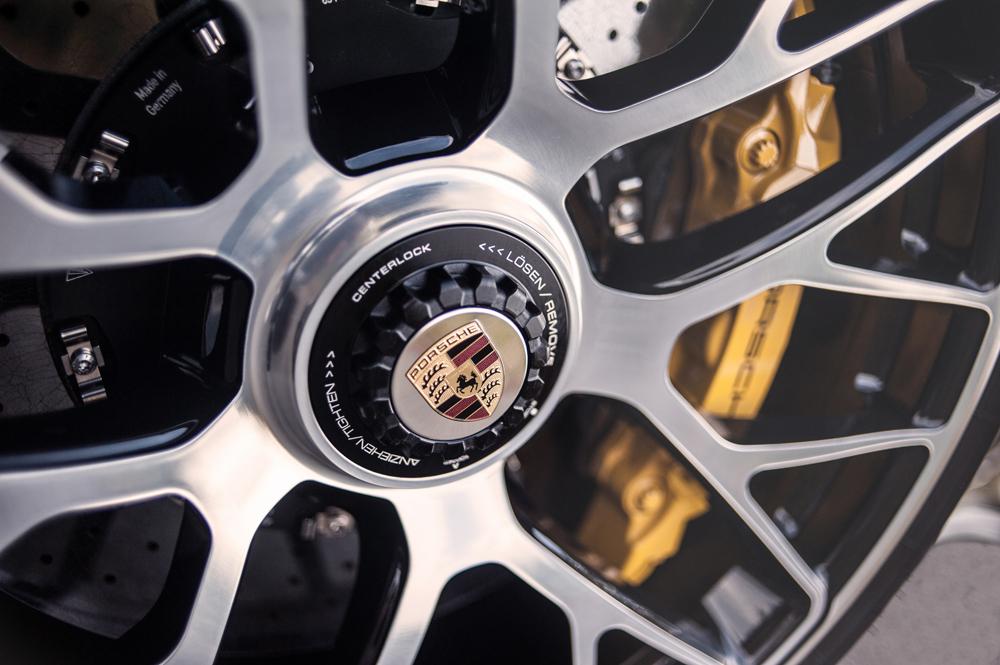 Car detailing Porsche velgen