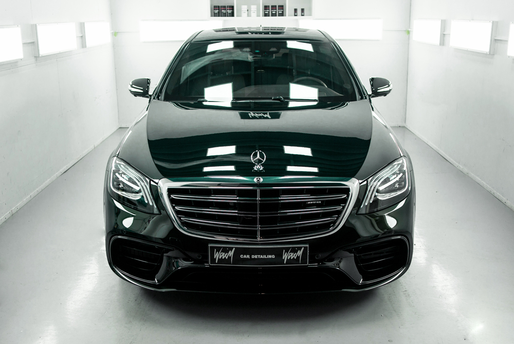 Quartz Coating Mercedes-Benz S 63 AMG