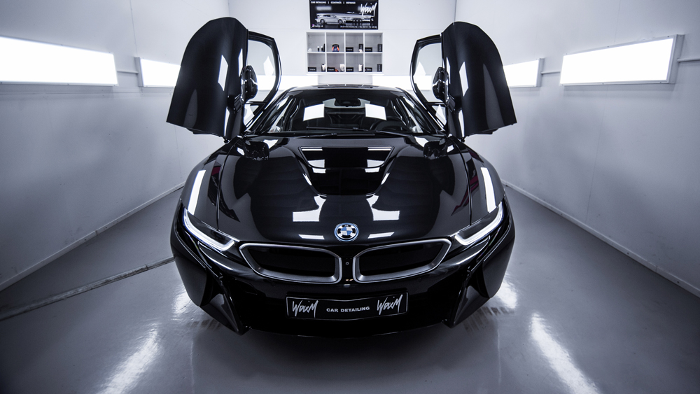 Quartz coating BMW I8