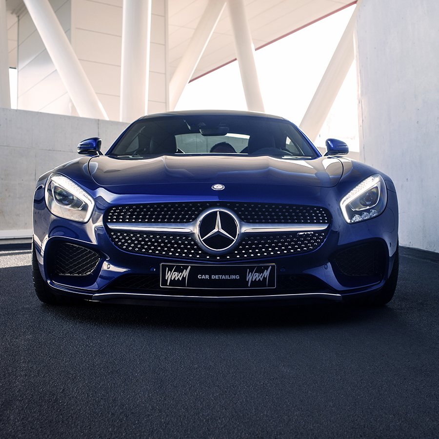 Quartz coating Mercedes-Benz AMG GT