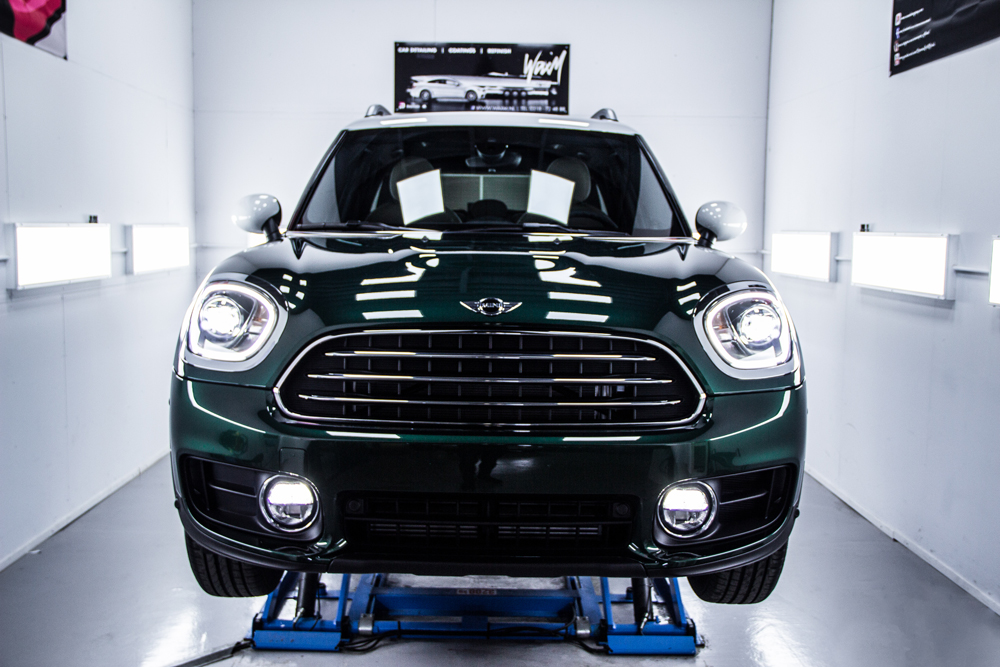 Quartz coating Mini Countryman